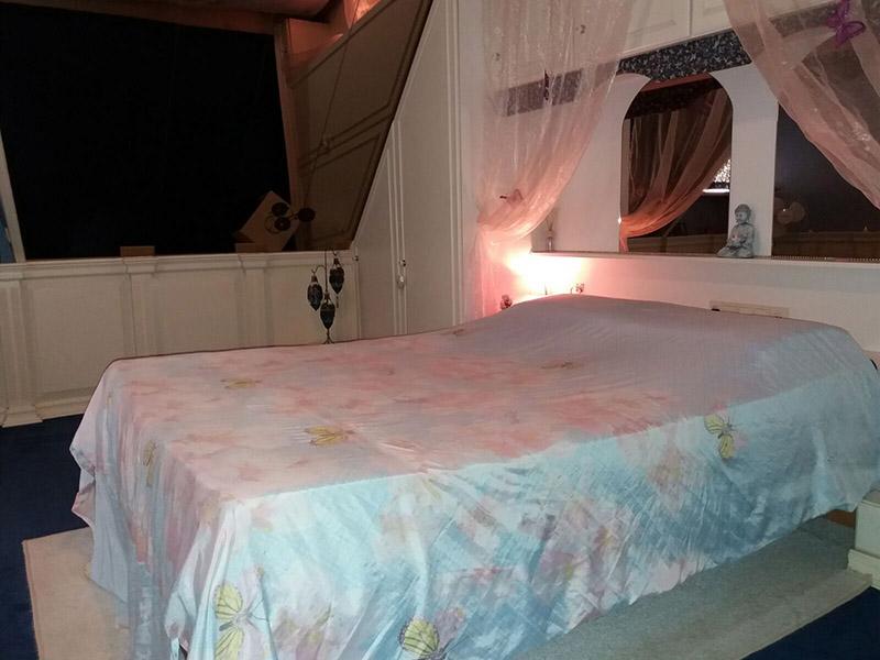 dating room-romantische spiegelkamer